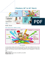 Plankaro-Weekend Events in Hyderabad