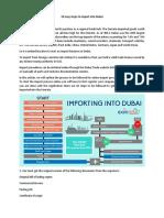 10 Easy Steps to Import Into Dubai
