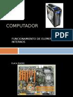 FUNCIONES INTERNAS DEL COMPUTADOR
