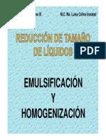 equipos emulsiones