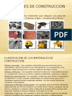 Clase 1 (Materiales de Construccion)