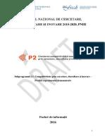 Pachet de Informatii PED II
