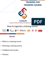 2 - How to Organize a Training Course
