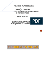 flexiondevigas