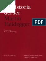 199794065 Heidegger La Historia Del Ser