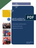 Boler School of Business Annual Report