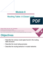 Module 2 8 the Routing Table a Closer Look(2)