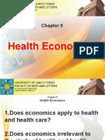 Chapter 9 - Health Economics
