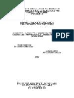 Cancer de Col Uterin- Data Antonescu