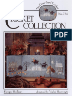Sleepy Hollow -Cricket Collection 274 [Cross Stitch Chart]