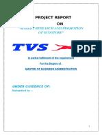 TVS Bike Marketing Project