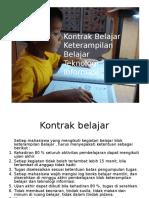 kontrak belajar
