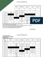 F Y B Tech 2015-16 Sem II Time Table.