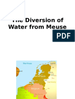 The Diversion of Water From Meuse