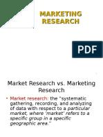 Online Mktg Research