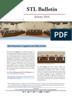 STL Bulletin - January 2016