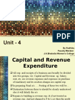 Capital & Revenue Expenditure