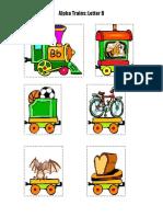 Alphabet Train b