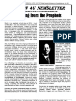 Profiting From the Prophets