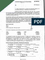 Pre-week Auditing Problems 2014