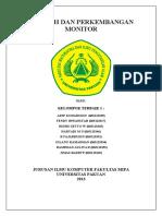 Sejarah Dan Perkembangan Monitor