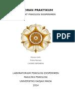 Alat-Alat Psikologi Eksperimen