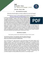 NIOS - 5D - S2 Biomimétisme en Poésie