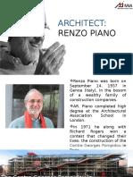 Renzo Piano Case Study