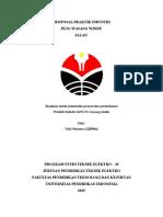 Proposal Praktik Industri (Pltg Wayang Windu)