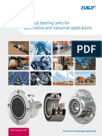 SKF Hub Bearing Units for Automotive and Industrial Applications