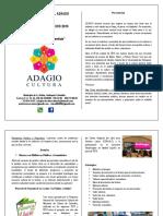 Brochure Adagio Cultura 2016