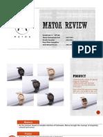 Matoa Review