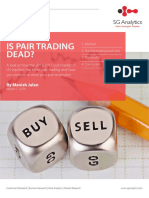SG Analytics-white-paper-Is Pair Trading Dead