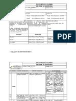 Modelo- Informe de Auditoria Desarrollado