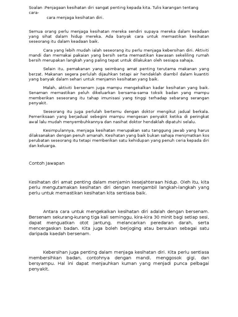 Contoh Soalan Spm Bahasa Melayu 2018 Gapura J