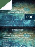IMPACTO MEDIOAMBIENTAL
