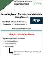 Aula Materiais Inorganicos