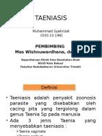 TAENIASIS ppt