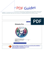 User Manual Planmeca Dimaxis Pro Version 2 e