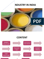 Ppt Paint Industry