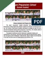 Fordham Prep Summer Academy 2009 Newsletter