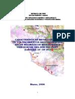 2006 InformeTecnico POI GR1 Metalogenia Arcos Yacimientos Lat 16-18-30 Acosta