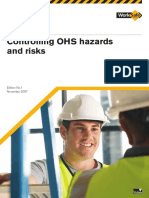 Controlling OHS Hazards and Risks(1)