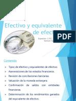 Diapositivas Efectivo y Equivalente Efectivo - Inversiones Financieras