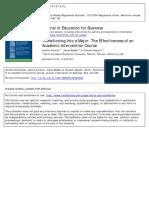 Intervention CourseIntervention