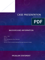 case presentation interview
