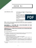 ZONE_N1 PLU Nîmes