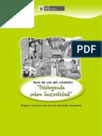 Educación sexual integral - Guia de uso de rotafolio dialogando sobre sexualidad.pdf