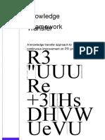 PFI KM Framework