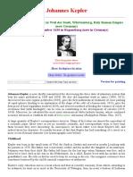 Kepler Biography